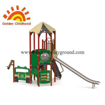 Playcar Tower Outdoor Playground Structure For Children