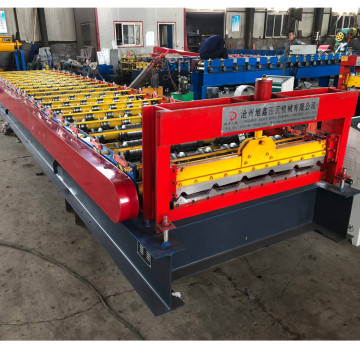 Trapezoidal profile roll forming machine price