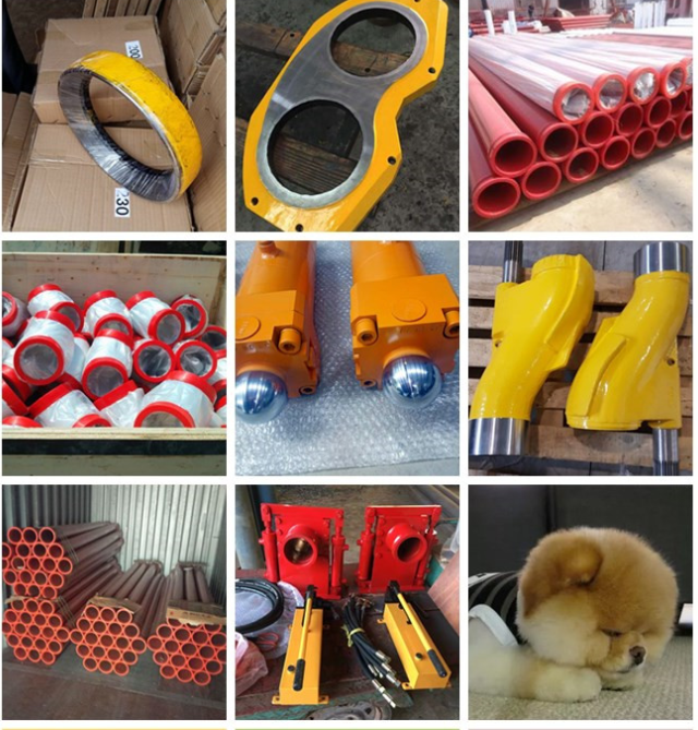 concrete pump other spare parts