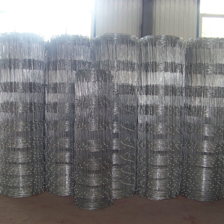 High Tensile Steel Durable Galvanized Field Fence