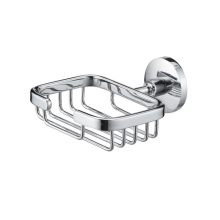 Bathroom Stainless steel square Soap Basket