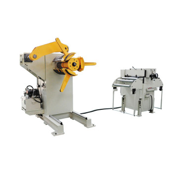 Super Purchasing for for Hydraulic Uncoiling Straightening Feeding Machine Uncoiler And Straightener For Sheet Metal export to Ecuador Supplier