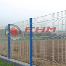 Green Color 3D Vinly Coated Welded Fence with High Security
