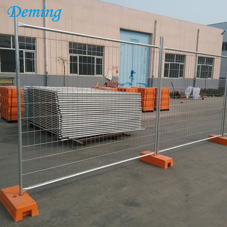 Australia Construction Site Galvanized Removable Used Temporary Fence