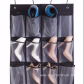 Over The Door Shoe Organizer 24 Large Mesh Pockets, White