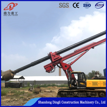 Dingli diesel water well drilling rig