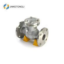 "JKTLPC098 horizontal stainless steel flanged 1/4"" check valve"