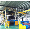 Double beam spundbond non-woven machine 1