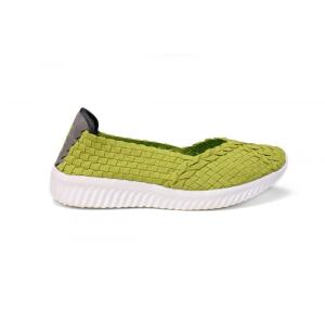 Classic Round-headed Low-profile Design Casual Woven Shoes
