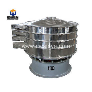Fully enclosed vibrating sifter for flour