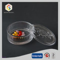Clear Round Shape Glass Trinket Boxes