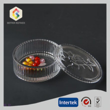 Factory Supply Factory price for China Manufacturer of Jewel Boxs, Large Jewelry Box, Black Jewelry Box, Ring Jewelry Box Clear Round Shape Glass Trinket Boxes export to Italy Manufacturer