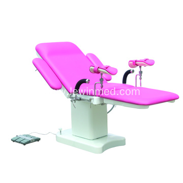 Hospital Gynecological Operation Table Electric Power Source