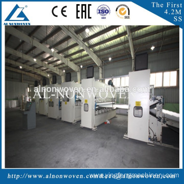 Nonwoven polyester fiber- carpet needle punching machine, needle punching production line, felt needle punching machine