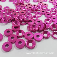 Hobbycarbon M4 aluminum flat washer for FPV