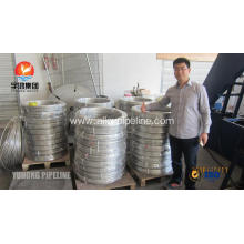 Stainless Steel Coil Tubing ASTM A269 TP316L,TP316Ti ,TP321,TP347H,TP904L, Bright Annealed , Coil form