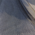 Woven screen mesh for mining and quarry