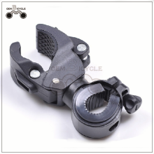 High quality mountain bike lamp holder bicycle flashlight holder bike lamp clip