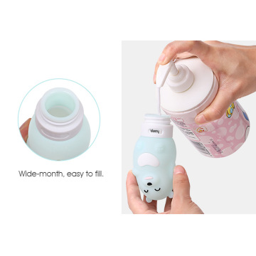 TSA Approved Squeezable Portable Silicone Bottle Travel Set