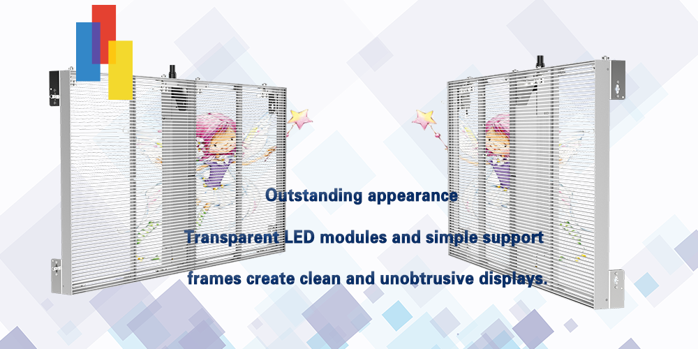 Outstanding and fashionable appearance for LED Glass Wall