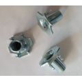 M5Carbon steel Zinc Plating Furniture Nuts