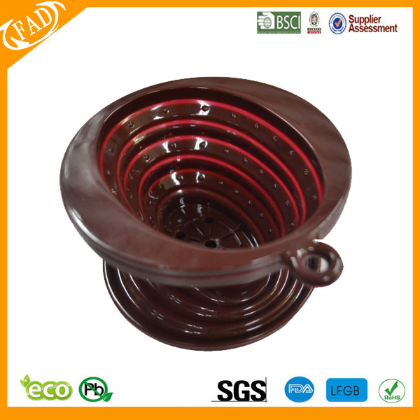 silicone coffee filter 12