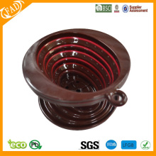 OEM Factory for Drip Coffee Filter BPA free heat resistant collapsible Silicone coffee dripper supply to Western Sahara Exporter