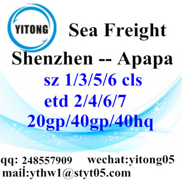 Shenzhen Sea Freight Shipping Services to Apapa