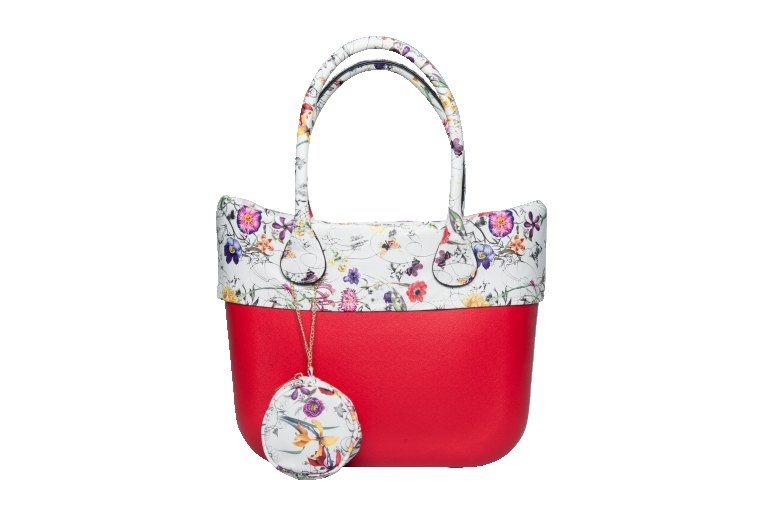 Italy o style bags with pu handle