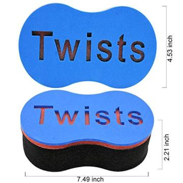 Magic Black Men Hair Twist Sponge
