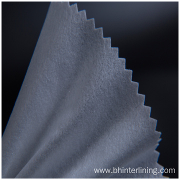 Cotton woven interlining fabric for hat and cap