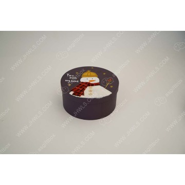 Hand-painted Snowman Customized Cosmetic Box