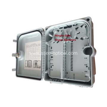 Waterproof 12 Port Fiber Optic Junction Terminal Box