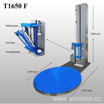 Popular Turntable Pallet Wrapping Machine