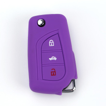 Toyota silicone key fob cover with 3 buttons