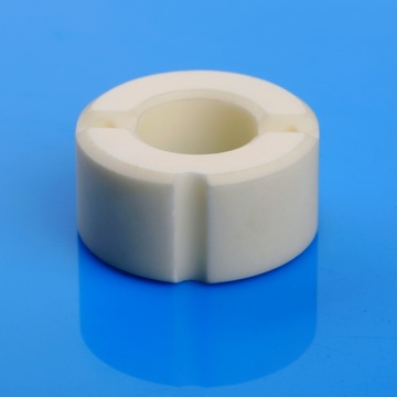 Mirror polished 99.5% alumina ceramic ring