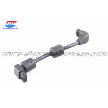 High Quality for Custom molded wire assembly Molded molex connector with ferrite core export to South Korea Importers