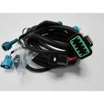China for Universal Fog Light Wiring Harness Braided Dupont Connector Cable Wire Harness supply to United Kingdom Manufacturers