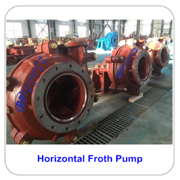 Professional for High Pressure Slurry Pump Horizontal Centrifugal Froth Slurry Pump export to French Polynesia Suppliers