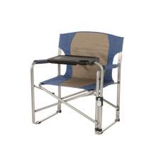 Large Folding Directors Chair with Swivel Tray