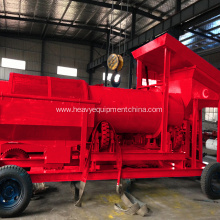 Europe style for Sand Screening Machine Alluvial Gold Ore Processing Mobile Trommel Washing Plant export to United Arab Emirates Supplier