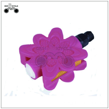 High quality flower bicycle pedal for kids