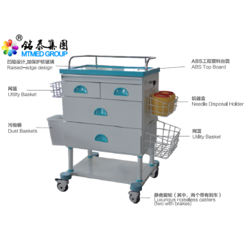 Hospital equipment anesthetic vehicles cart