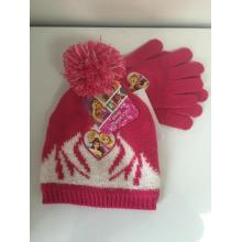 Customized for Knitting Beanie Jacquard Disney  Winter Knitting Beanie export to Luxembourg Manufacturer