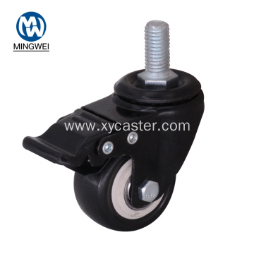 2 Inch Black Industrial Furniture Caster