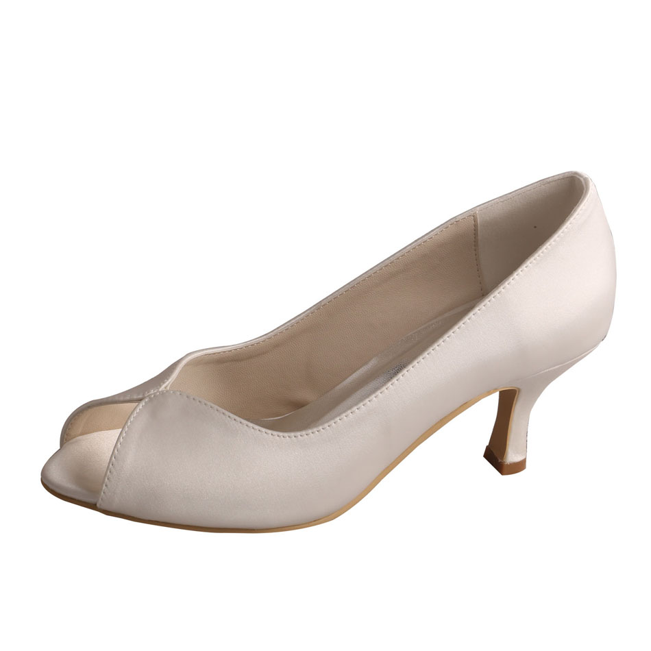 Wedding Shoes Ivory