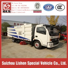 Water Tank 5 CBM Garbage Box Sweep Truck