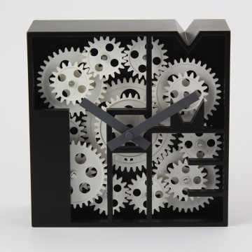 High-end Geometry Gear Desk Clock