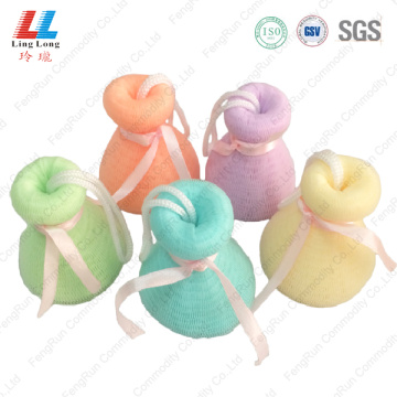 body scrub shower mesh foam cleanse bath sponge