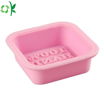 3D Square High Quality Silicone Mold for Soap